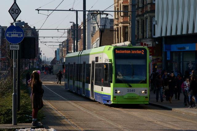 Croydon-tram