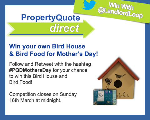 PropertyQuoteDirect Mother's Day competition