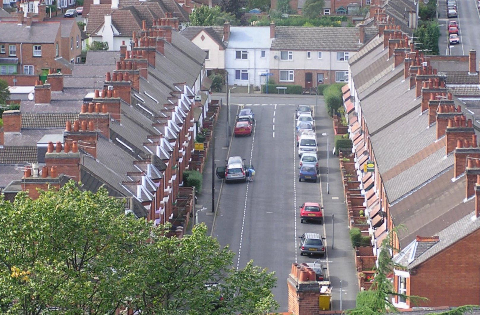 Image of terraced housing