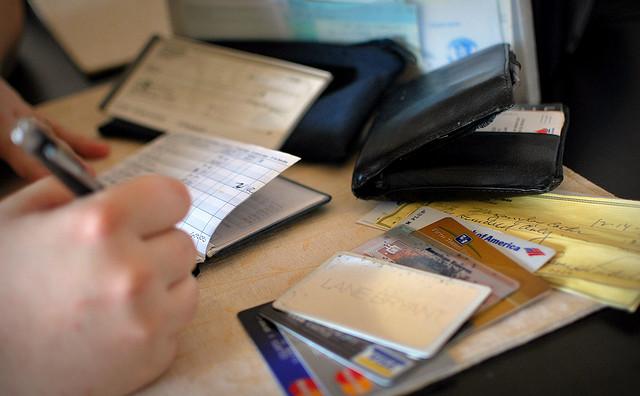 Image of financial paperwork